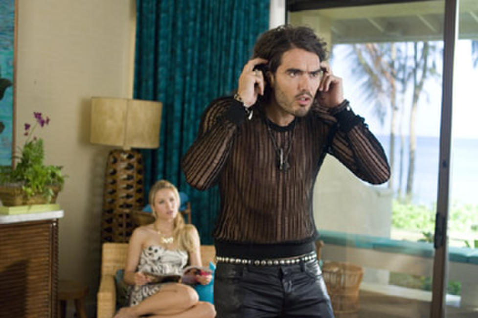 Kristen Bell and Russell Brand in